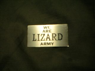 WE ARE LIZARD ARMY!